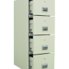 Steelwater Fireproof 4 Drawer File Cabinet - SWFFC-400K