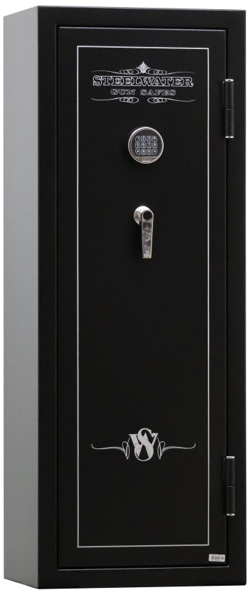 """New and Improved Steelwater Standard Duty EGS5922 - Free Door Organizer Included, Upgraded to 1 Hour Fireproof, Larger 1.5"""" Locking Bolts, Automatic LED Interior Lighting Included"""