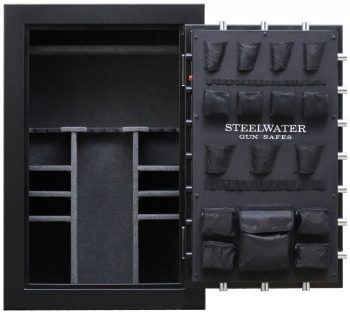 gun safe Steelwater Gun Safes Affordable Fireproof Gun Safes Free Shipping North Augusta SC front interior New and Improved Steelwater Heavy Duty - 1 Hr Fire - LD593924-EMP