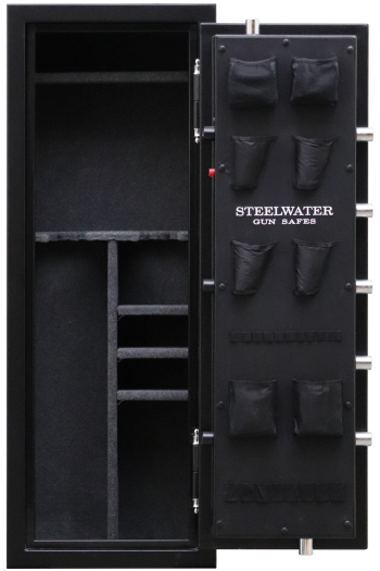 """New and Improved Steelwater Heavy Duty SW592216 - Free Door Organizer Included, Upgraded to 1 Hour Fireproof, Larger 1.5"""" Locking Bolts, Automatic LED Interior Lighting Included"""